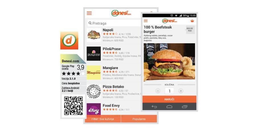 donesi.com aplikacija
