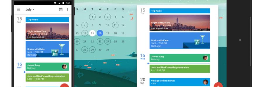 Google predstavio redizajniranu Calendar aplikaciju u Material Design stilu