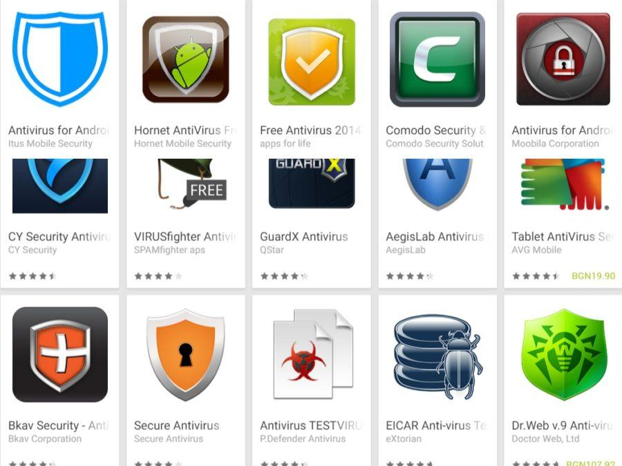 Antivirus aplikacije