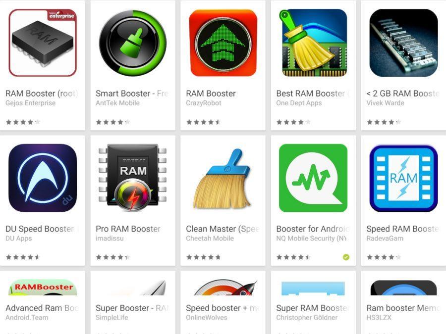 RAM aplikacije