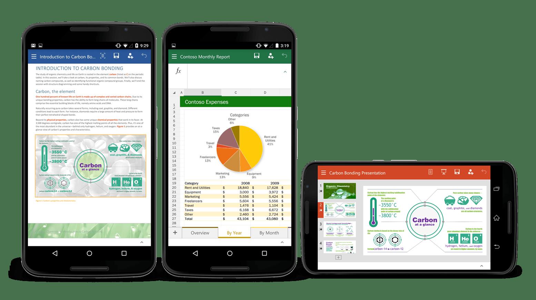 Office za Android telefone