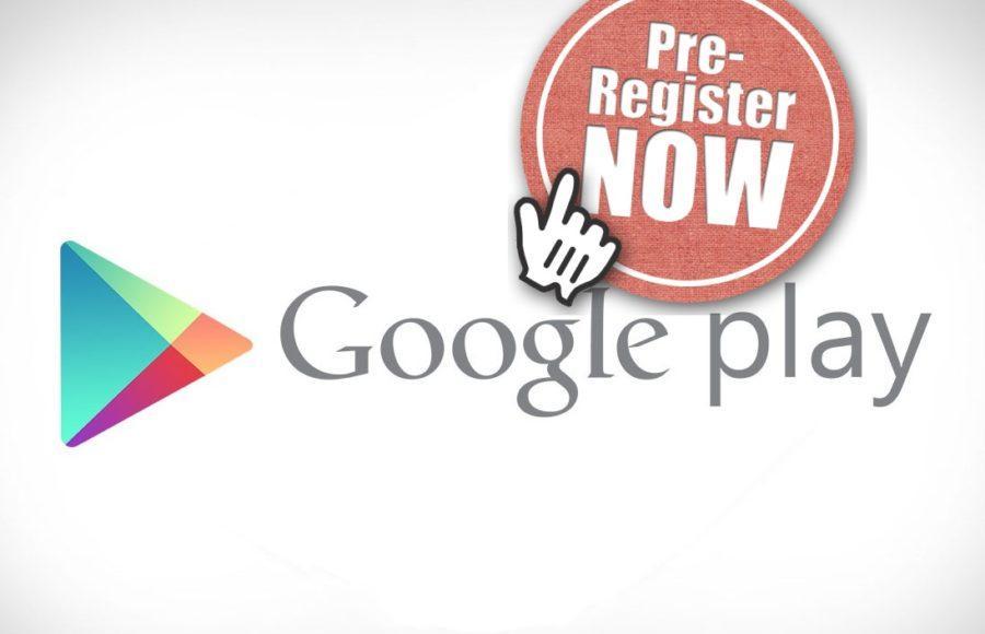 Google Play pre-register