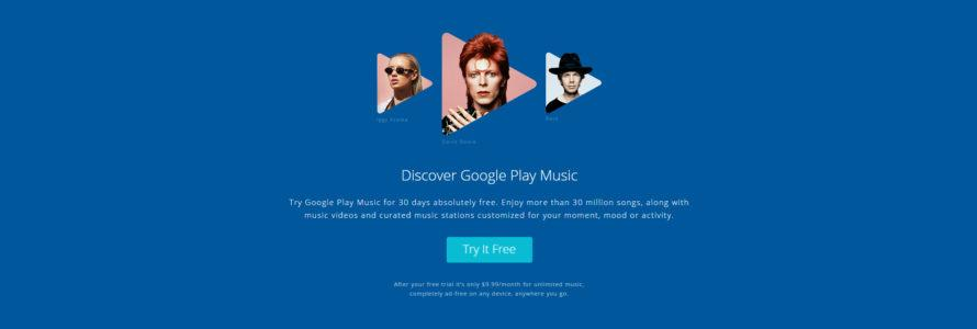 Google Play Music AllAccess