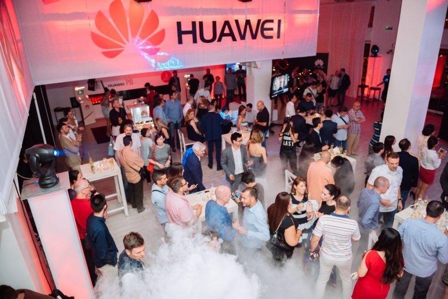 Huawei P8 - okupljanje zvanica