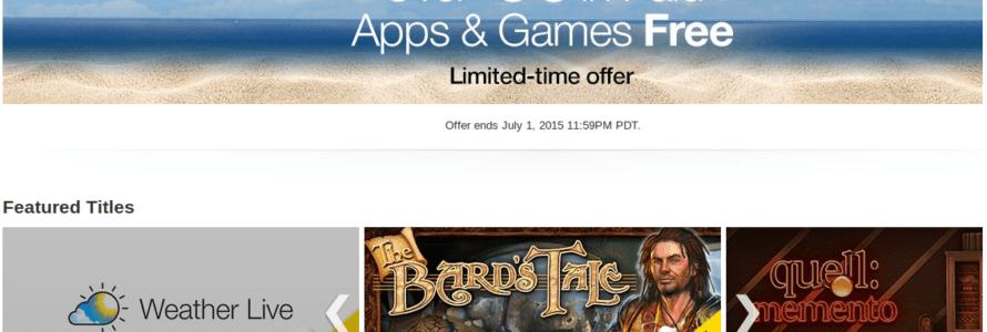 amazon besplatne aplikacije i igre
