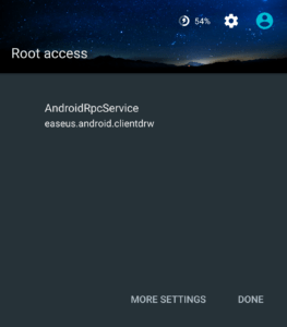 EaseUS root